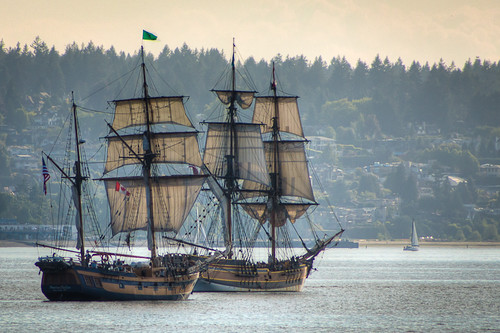 Tall Ships in English Bay