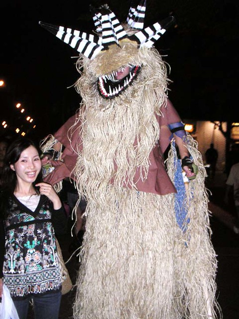 Scary stilt costume - photo#26