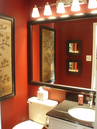 Powder Room After - wall art