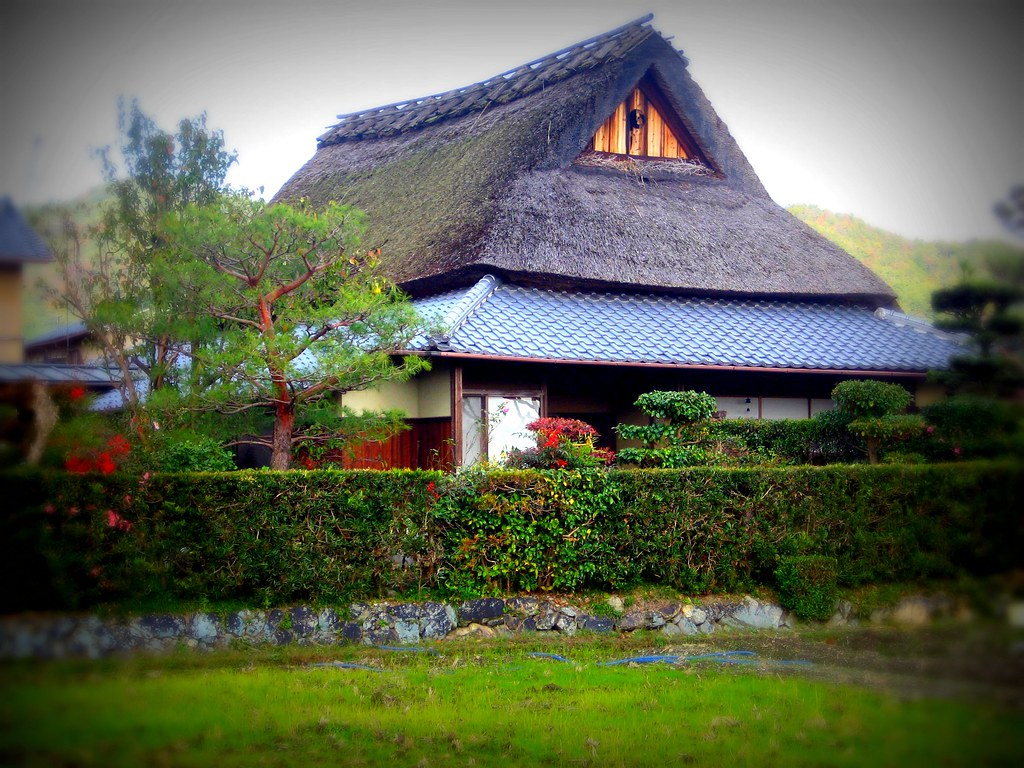 Saga Thatched Farm House