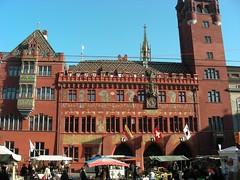 The city hall of Basel