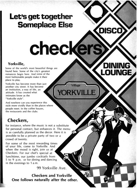 Vintage Ad #463: Disco Checkers
