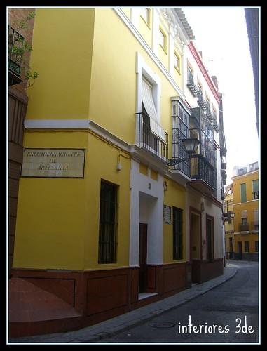 Color amarillo para las paredes interiores3de for Fachadas casas color arena