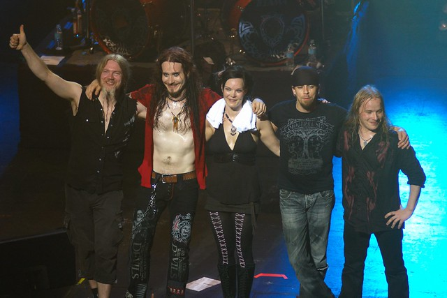 Finnish bands: Nightwish.