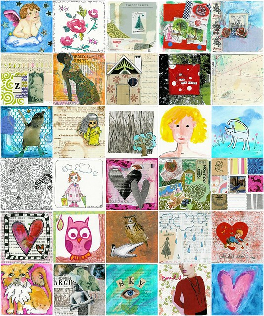 January 2008 - Daily Art Cards