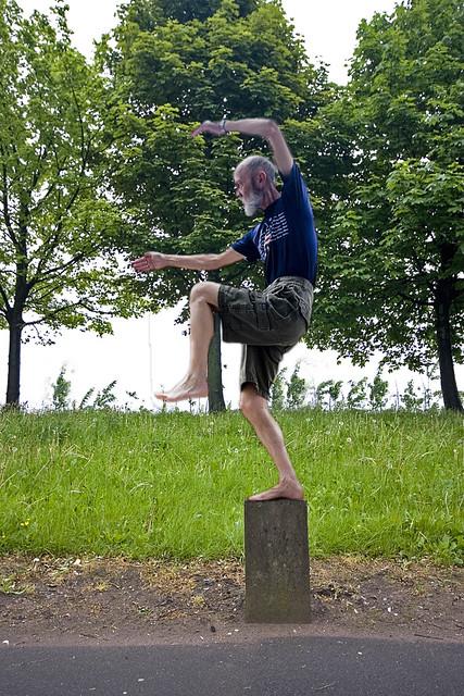 Karate Kid Crane Stance | 427 x 640 jpeg 174kB