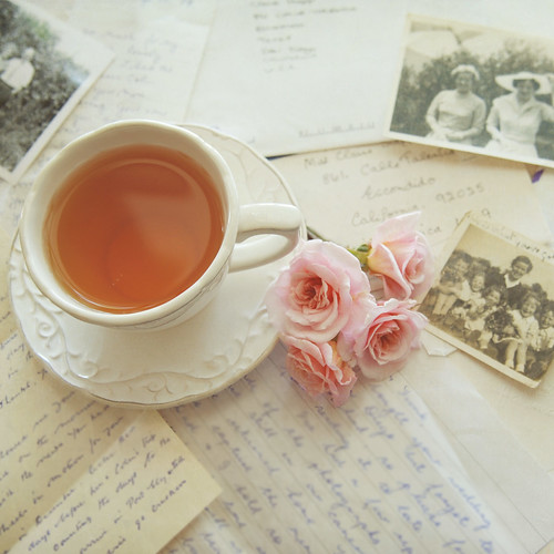 Tea, roses and memories.... by ImagesByClaire