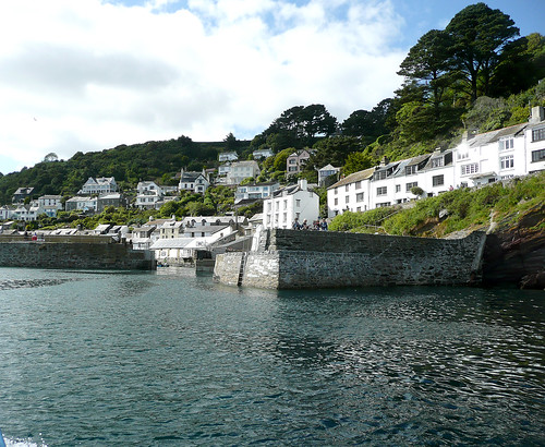 Polperro - Arriving In Harbour