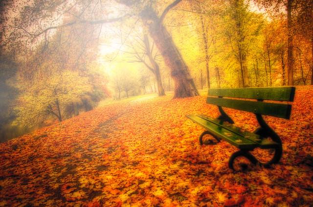 HDR Bruges Brugge Autumn Light