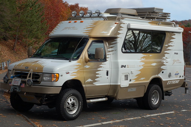 Chinook Baja Extreme in a Connecticut rest area, November 17, 2007. Photo by Tim Pierce.