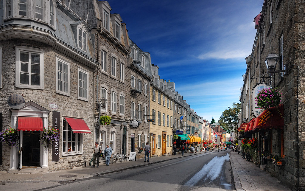 Saint Louis Street, Quebec City