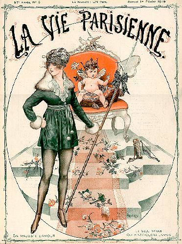 H rouard lvp cover 1919 flickr photo sharing - La parisienne journal ...