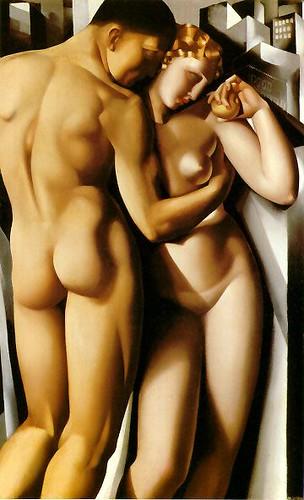 Tamara de Lempicka Adam and Eve
