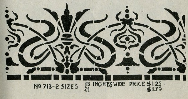 Vintage Stencil