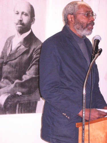 Abayomi Azikiwe, editor of the Pan-African News Wire, delivered a major address at the US Imperialism & Africa Conference on Saturday, Feb. 23, 2008 in Detroit. The event was sponsored by MECAWI. (Photo: Cheryl LaBash). by Pan-African News Wire File Photos