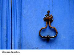 the locks and the door knobs