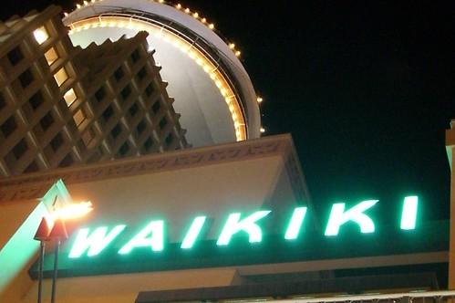 Waikiki In Neon