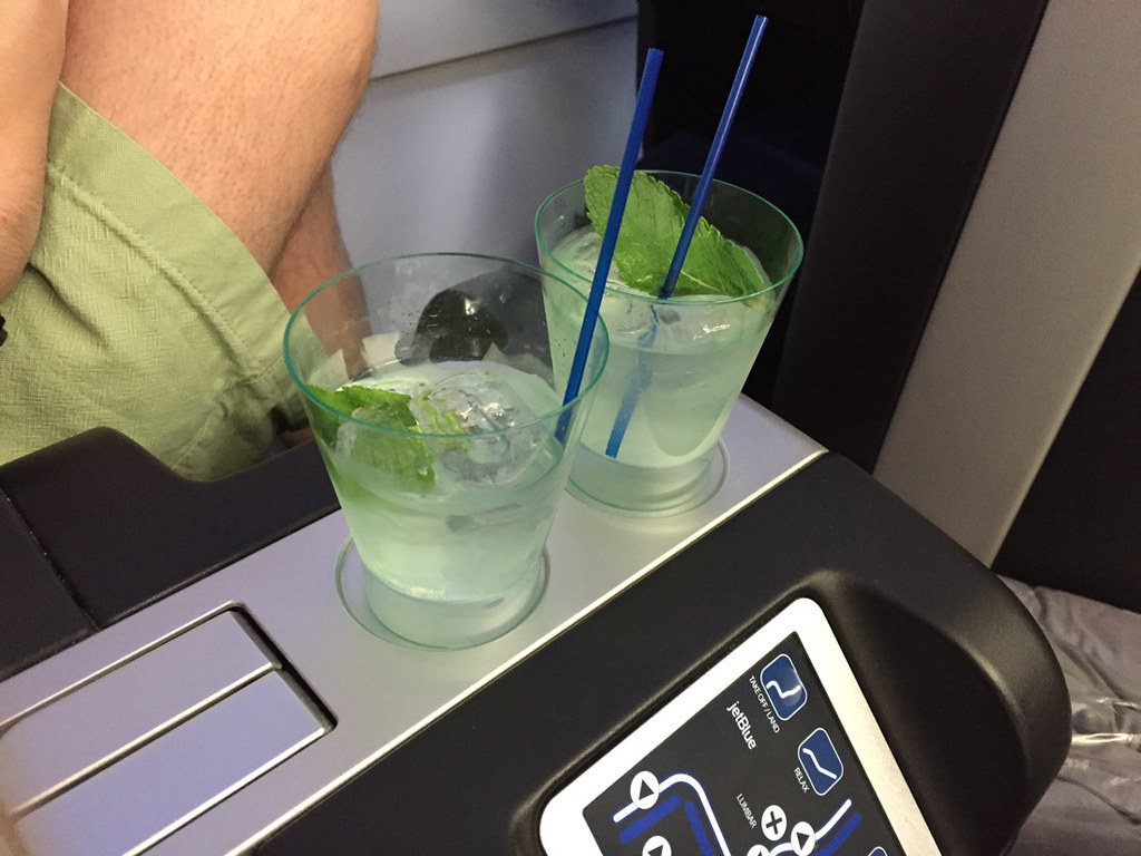 JetBlue RefreshMint Beverage