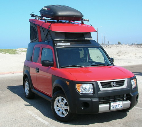 Ursa Minor Honda Element Camper Jalopnik Flickr
