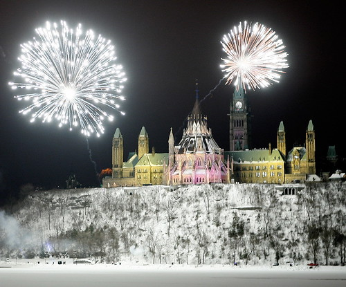 New Year Canada