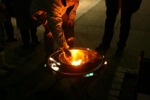 Burning Bowl Ceremony