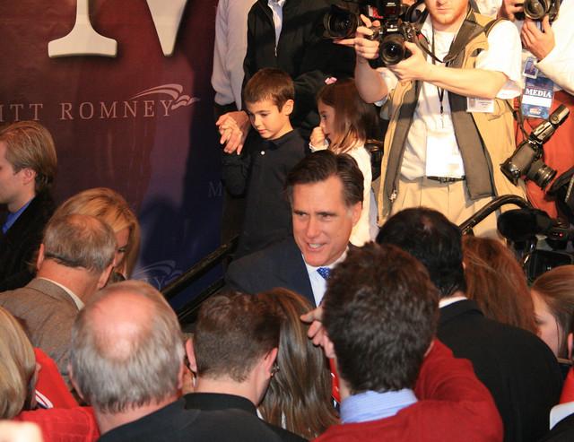Primary Night: Mitt Romney