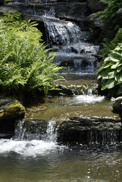 Rock Garden Waterfall Flickr Photo Sharing