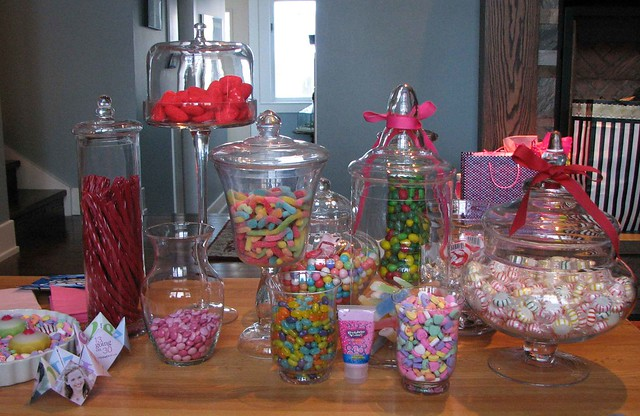 Candy goodies flickr photo sharing for 13th birthday party decoration ideas