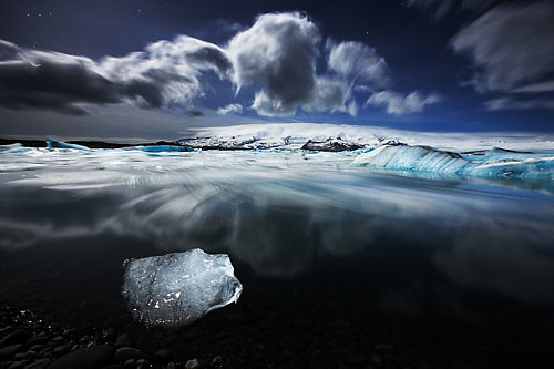 #7: Apparently, the icebergs dance at night