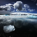 Apparently, the icebergs dance at night by LalliSig