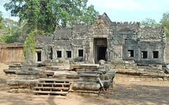 Gopura ouest du temple de Preah Khan
