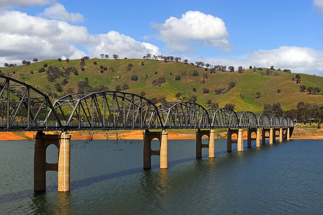 Albury Australia  city photos : Albury, New south Wales, Australia, Bethanga Bridge IMG 6751 Bethanga ...