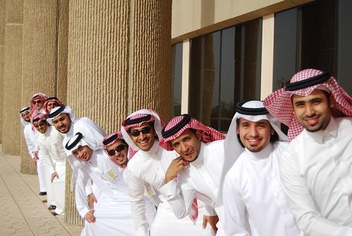 Group shots - Saudi Graduates by Ben SJ, on Flickr