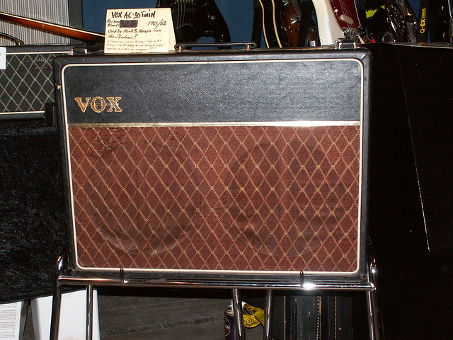 Photo:Vintage VOX Amp By jonsson