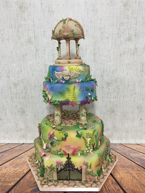Cake from Dinkydoodle Designs by Dawn Butler