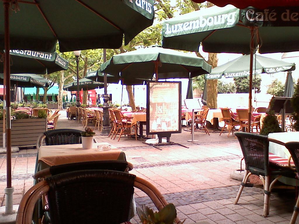 Cafe De Paris Terrasse Cafe De Paris Lu Flickr