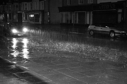 Madoc Street In The Rain