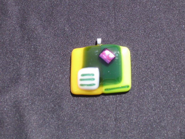 Dichroic Fused Glass Cabochons
