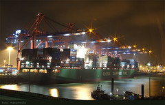 Container Ship, CT Hamburg