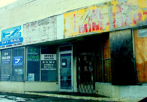 Euclid Avenue Store Fronts: East Cleveland, Ohio