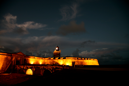 El Morro Lighthouse - time lapse video