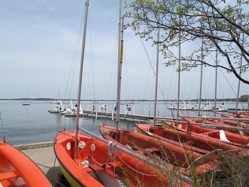 Lake Mendota spring