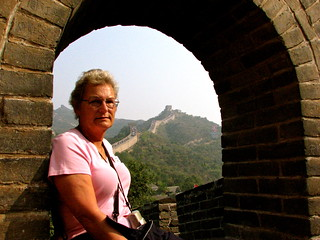 Great Wall……Great lady