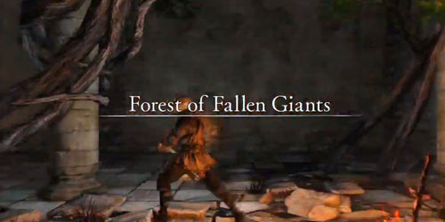 Dark Souls II - Forest of Fallen Giants