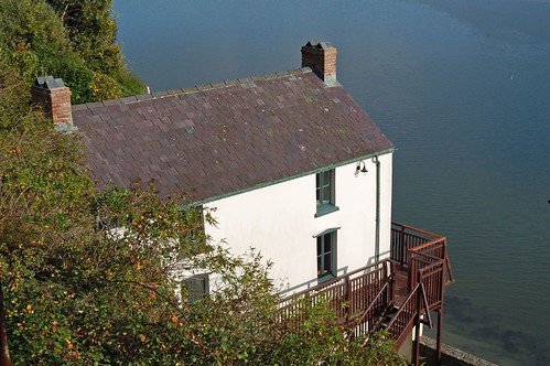 The boathouse at Laugharne