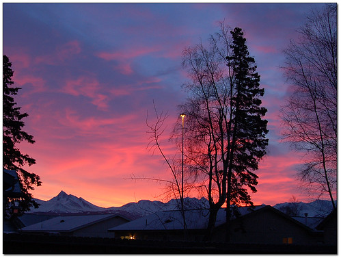 alaska sunrise anchorage