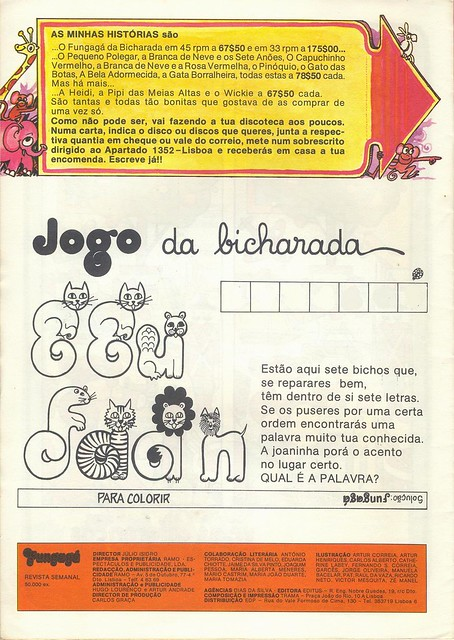Fungagá da Bicharada, Christmas number, December 1976 - 16