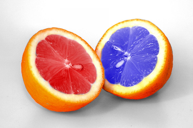 Blue and Red Lemon | Flickr - Photo Sharing!