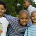 three kids by greenkozi