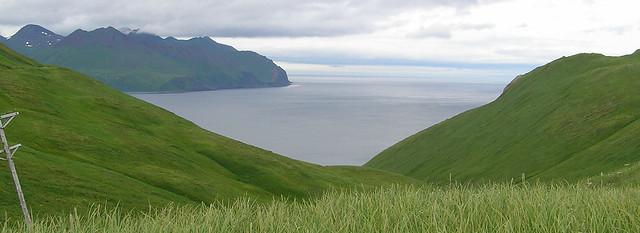 Unalaska Bay entrance